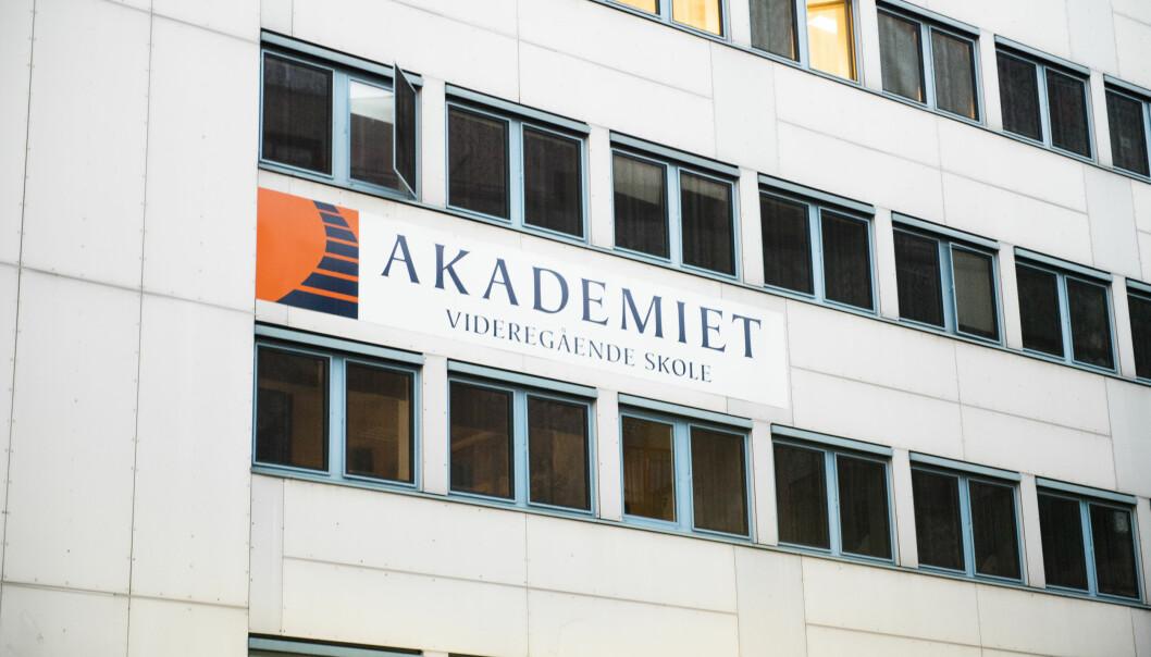 Akademiet videregående skole i Oslo er blant skolene som må betale tilbake statsstøtte etter et tilsyn av Udir.