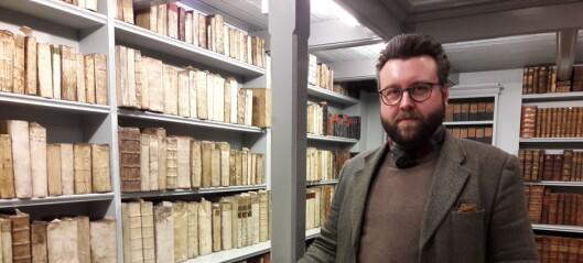 Byens eldste bibliotek fyller 300 år. Her fins den aller første boka om Oslo og en svartebok som lå under gulvet i Vinje stavkirke