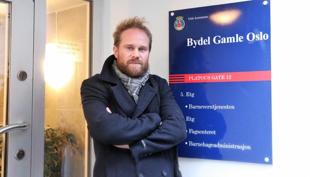 — Det er en skandale at bydel Gamle Oslo ikke har fulgt opp bydelsutvalgets vedtak om å styrke grunnbemanningen i barnevernet, mener SV-politiker Stian Amadeus Antonsen.