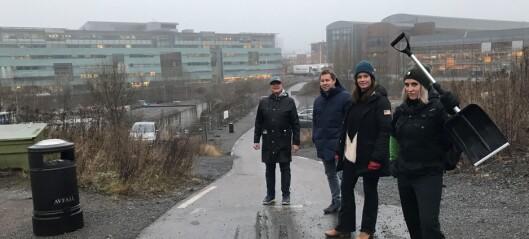 Nå kan det bli foreløpig løsning for park i Nydalen. Men veien er lang til enighet om permanent parkanlegg