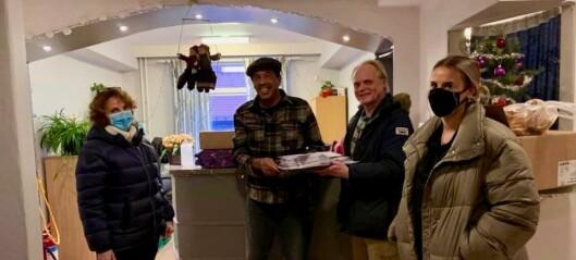 Audny Sivertsen Ribes gaveinnsamling til Fattighuset mer enn doblet i år: — Utrolig rørende, tusen takk for alle bidrag!