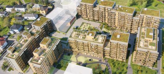 Her, ved Lørenparken, foreslår byrådet å oppføre 320 nye boliger