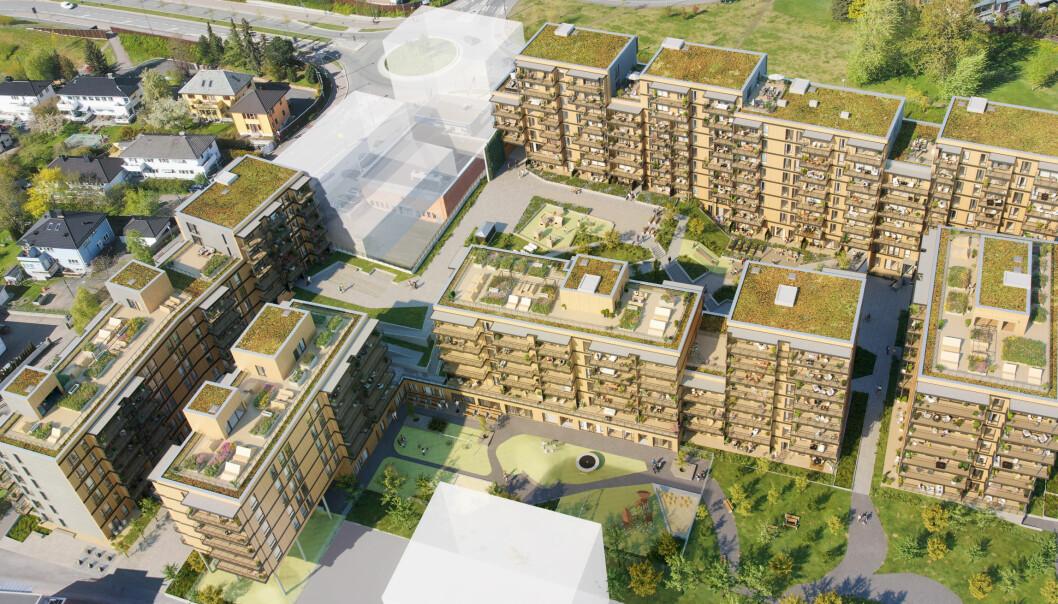 — Vi foreslår at dette området skal få ca. 320 attraktive boliger og en park, sentral beliggenhet og god kollektivdekning. Prosjektet bidrar til boligforsyningen i byen, sier byråd for byutvikling Arild Hermstad.