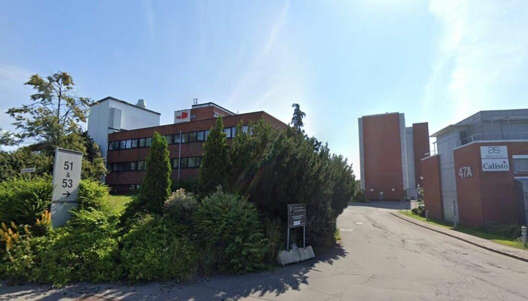 I dette industriområdet på Løren foreslår byrådet å oppføre 320 nye boliger.