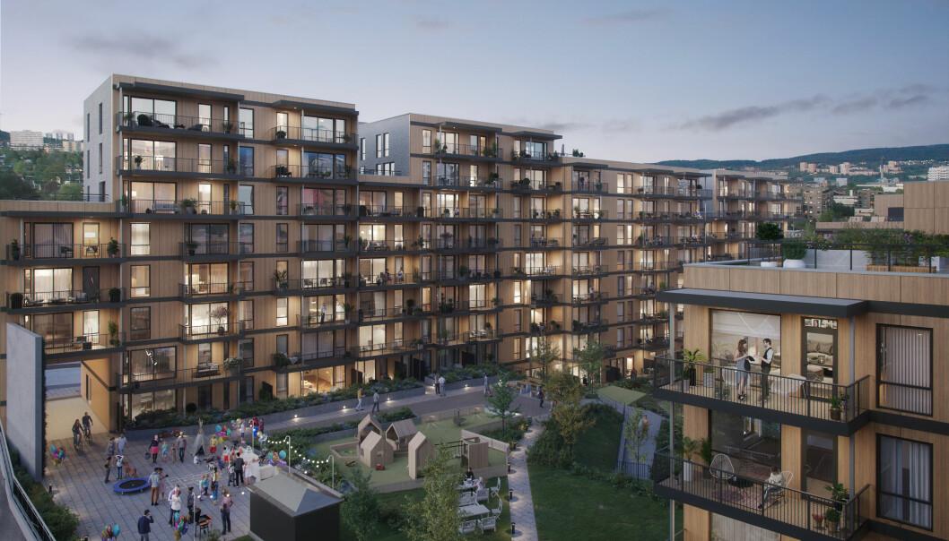 Arild Hermstad og byrådet ønsker å omdanne det tidligere industriområdet i Sinsenveien 51-55 til flere hundre nye boliger.