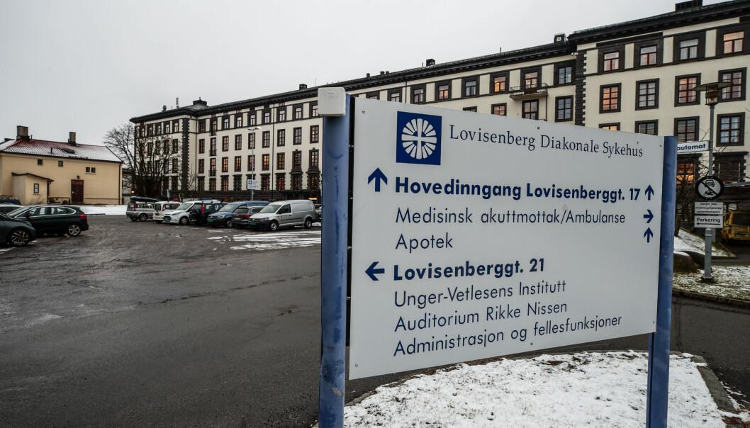 Dødsfallet i helgen var det femte knyttet til korona ved Lovisenberg Diakonale sykehus.