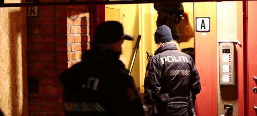 19 ungdommer smittevern-anmeldt på Vestli. Sju personer ble innbrakt