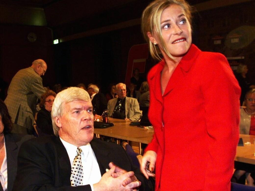 Fred og fordragelighet valgnatta i 1999 mellom Oslo Frps toppkandidat ved kommunevalget, Einar Lonstad, og daværende nestleder i Fremskrittspartiet, Siv Jensen. Ett år etterpå ville Jensen og Frp-ledelsen kvitte seg med Lonstad.