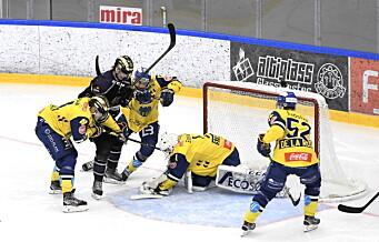 I to perioder holdt Grüner følge med hockeystorheten Storhamar, så raknet det