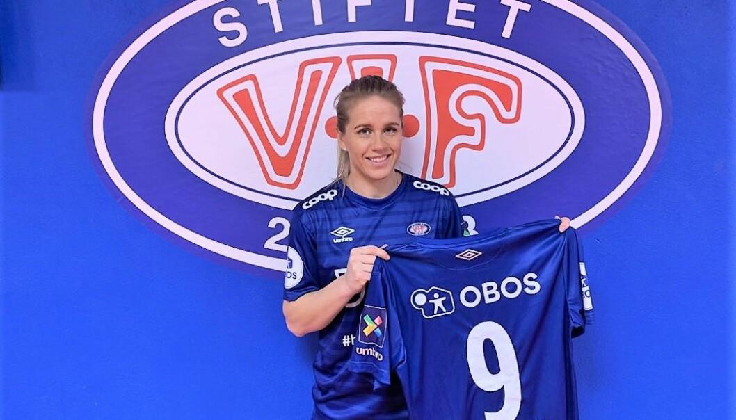 Elise Thorsnes skal være den som scorer målene for Vålerengas damelag de neste to sesongene.