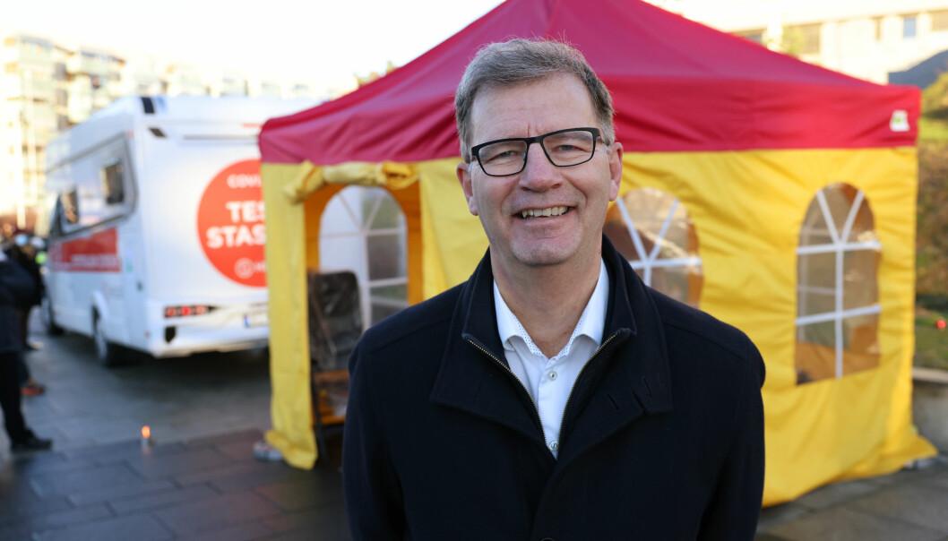 — Kommunen vil kontakte hver enkelt innbygger når det er deres tur for vaksinering, sier helsebyråd Robert Steen (Ap).
