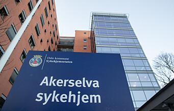 Sykehjemmene i Oslo i full gang med å forberede koronavaksinering