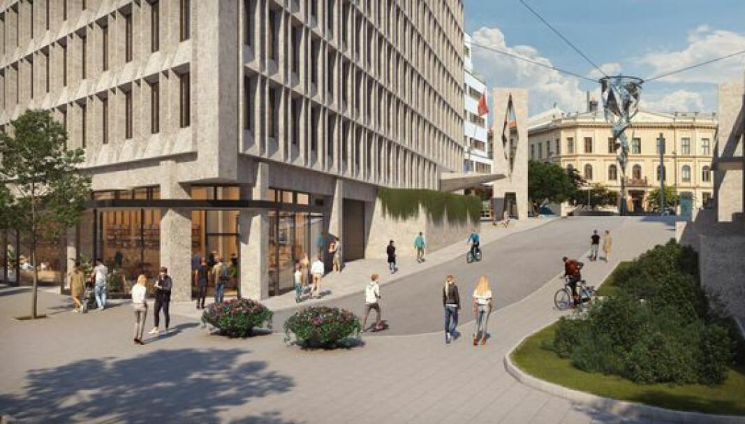 Bygget har i en årrekke huset juridisk fakultet ved Universitetet i Oslo.