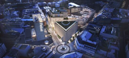 St. Olavs Plass 5 skal totalrehabiliteres med opptil 1000 arbeidsplasser i åtte kontoretasjer