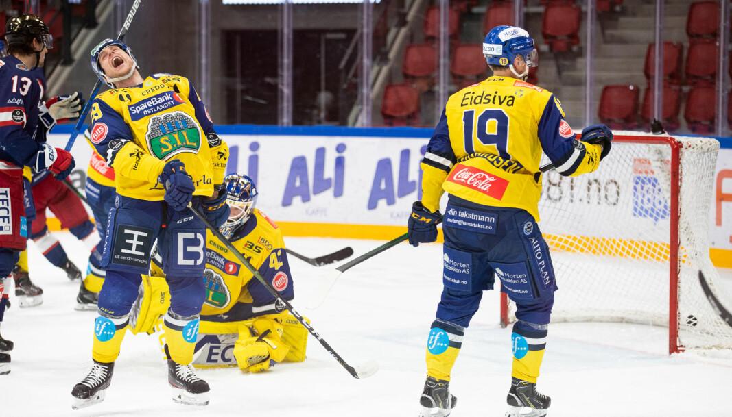 Så fortvilet ble Storhamars Andreas Øksnes da Vålerenga snudde kampen i midtperioden.