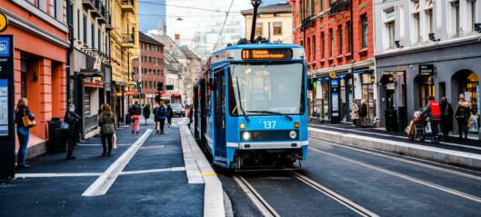 Oslo-folk følger Ruters oppfordring om ikke å reise kollektivt. Stille lørdag på trikk, buss og bane