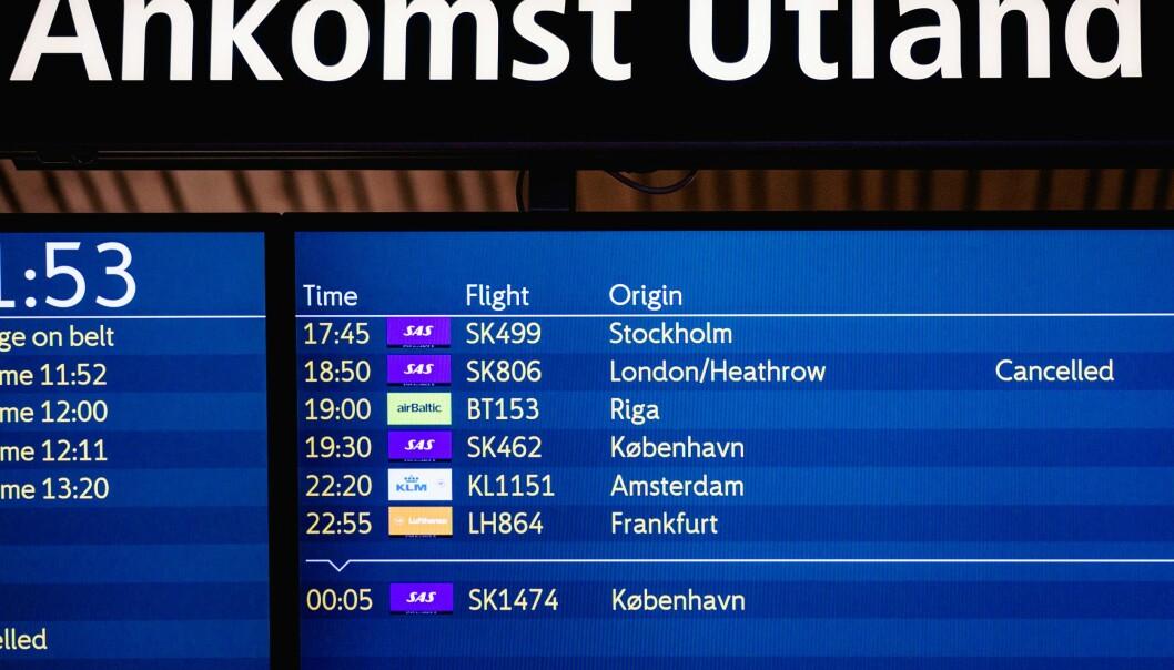 Flystans fra Storbritannia varer frem til 29. desember. Spørsmålet nå er om stansen forlenges.