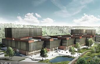 Det største universitetsbygget i landet skal bygges blant annet på kvikkleire