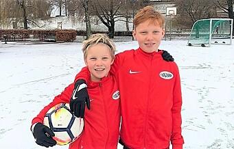 Kampen-boere med fantastisk julegave til fotballungene i Forward