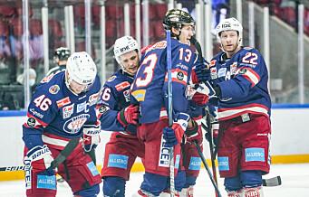 VIF ishockey snudde kampen i Narvik. Nærmer seg tabelltoppen