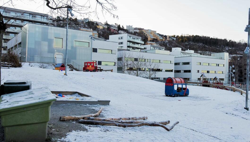 Kværnerdalen barnehage er bygget i et område med stor risiko for kvikkleireras.