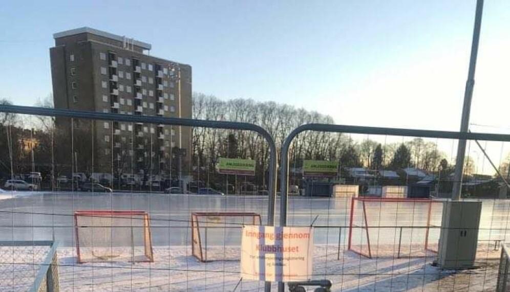 Isbanen ved Voldsløkka har vært stengt for publikum siden 4. januar.