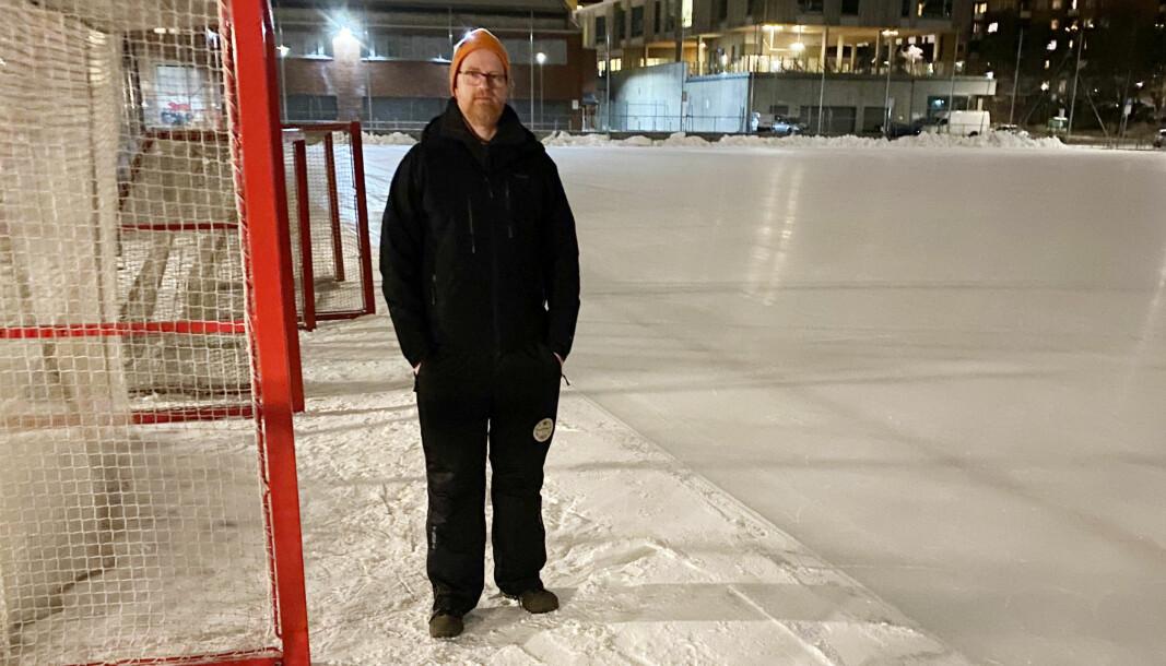 Det kommer folk omtrent hver eneste natt, forteller leder av Sagene IF Bandy, Henning Strøm.