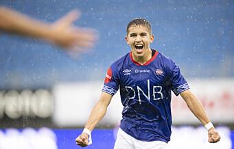 Osame Sahraoui (19) scoret årets mål for Vålerenga. Se denne perlen
