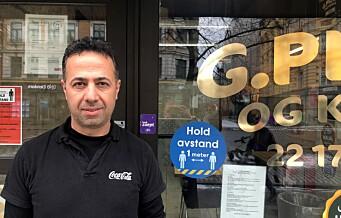 - Kunder er ofte fulle og uten munnbind, sier Mariwan (42) ved Grønland pizza & kebab. Her er yrkene som er mest utsatt for korona