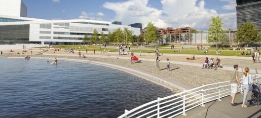 De presenterer en strand for alle, men viser fram et begrenset utvalg av befolkningen. Dette er ikke mitt Oslo