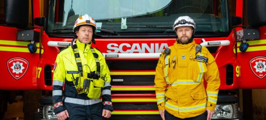 Knut og Trond i Oslo brannvesen forteller om den dramatiske redningsaksjonen på Gjerdrum. – Får fortsatt klump i halsen