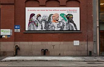 Tyrkia setter press på Oslo bystyre: Sender brev til samtlige 59 representanter og krever omstridt kunstverk fjernet