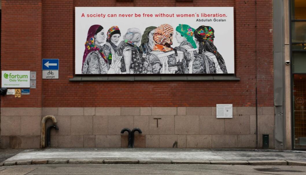 Oslo kommune har mottatt over 80 klager på dette kunstverket.