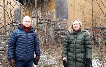 Fortsatt ingen planer for Villa Sorgenfri på Carl Berner. En skam, mener Venstres Haakon Riekeles