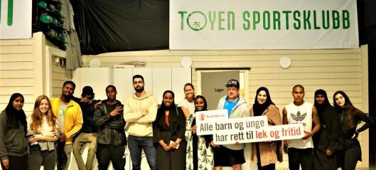- Ikke bruk Tøyen Arena til massevaksinering! Det rammer utsatte barn og unge i indre by