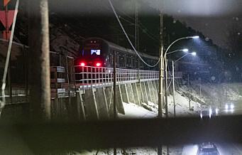 Østfoldbanen fortsatt stengt