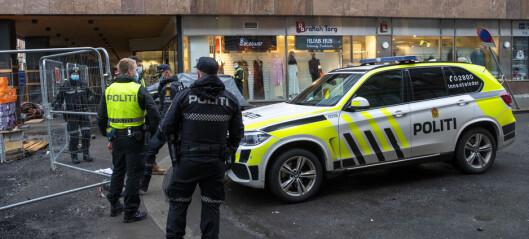 Mann siktet for drapsforsøk etter knivstikking i Storgata