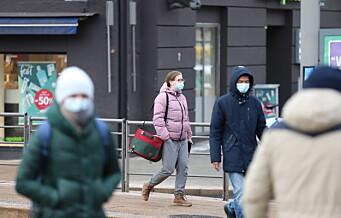 Over 2.000 nye koronasmittede i Oslo siden nyttår: - De siste ukene har det vært en økning av smitte