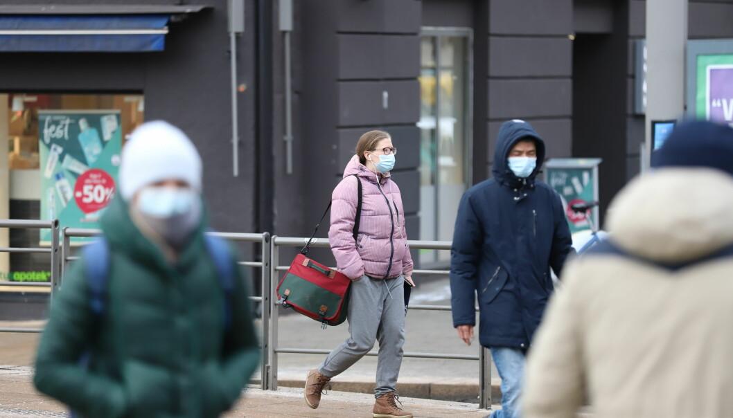 Koronasmitten øker i Oslo og har nå passert 16.000 tilfeller siden pandemien startet i mars i fjor.