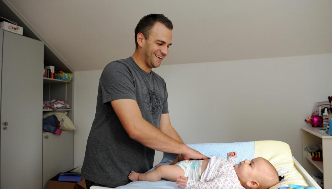 I 2021 er det planlagt satt av 200.000 kroner til den kommunale støtteordningen for barnefamilier som velger tøybleier.