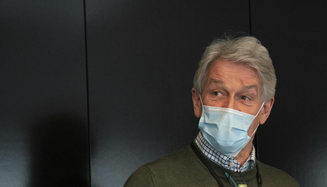 Direktør Helge Jagmann i sykehjemsetaten kunne konstatere at Oslo er i gang med andre vaksinerunde for eldre på institusjoner.