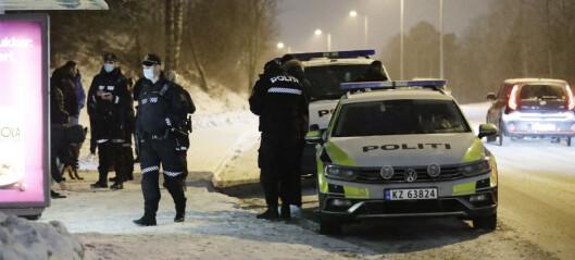 Person knivstukket ved Haugerudsenteret. Ukjent skadeomfang