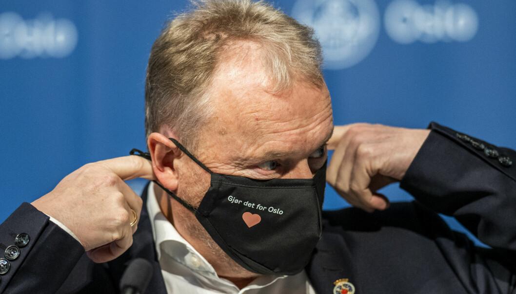 – Jeg synes det er galskap at regjeringen åpner for verdenscup i Norge nå, sier Raymond Johansen.