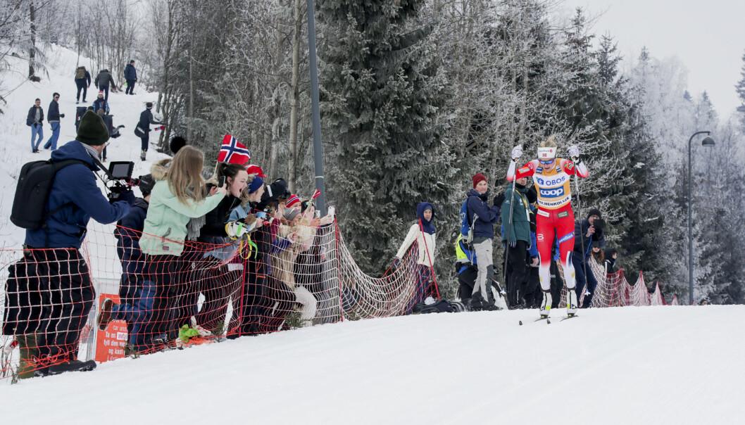 Det ligger an til å bli verdenscuprenn i Holmenkollen, men uten publikum.