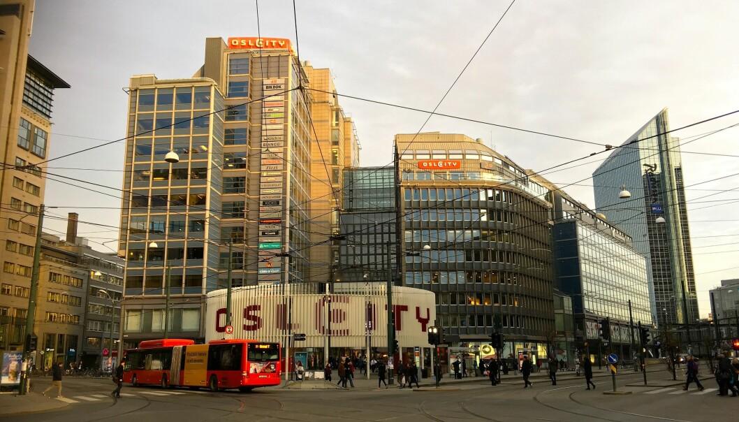 Lørdag blir trolig kjøpesentrene i hovedstadsregionen rammet av koronatiltak. Her Oslo City.