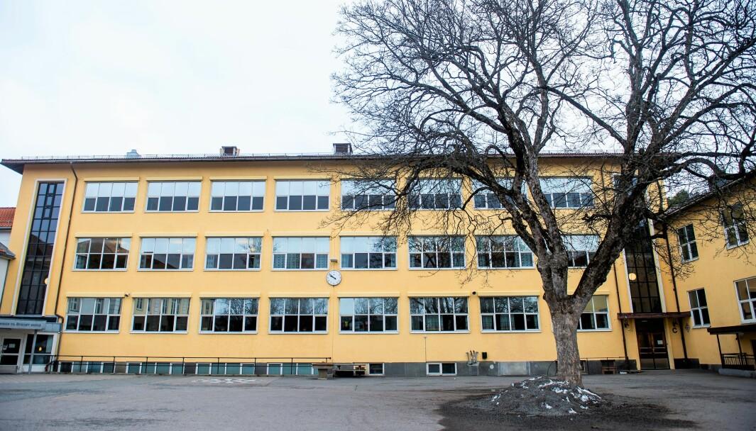 I vår måtte Bygdøy skole og de andre osloskolene holde stent på grunn av koronoviruset. Mandag eller tirsdag åpner sklene på rødt beredskapsnivå.