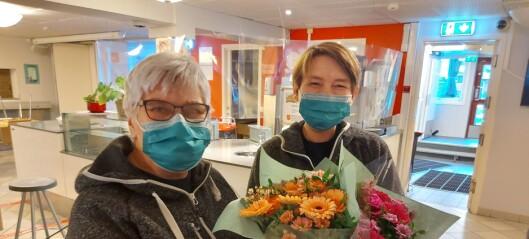 Mester Grønn må stenge 51 butikker. Donerer blomster til ansatte i Frelsesarmeen