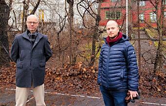 «Skam-skolen» Hartvig Nissen får 90 nye elever og tre nybygg. — Utbyggingen blir for massiv, mener Venstre