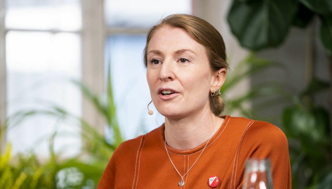 I kveld stemmer Sunniva Holmås Eidsvoll (SV) og resten av SVs bystyregruppe mot sitt eget Ap/SV/MDG-byråd, som i hovedtrekk støtter et regjeringsforslag om å kunne innføre portforbud under korona.