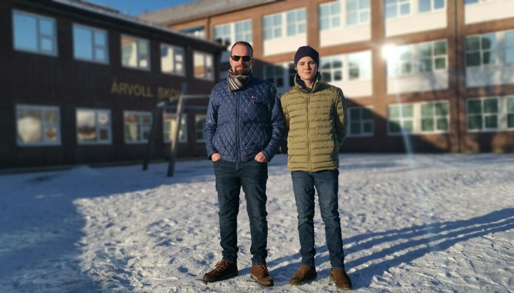 Kim Massey Heide må sende sønnen Alex ut på en 30 minutter lang reisevei fordi Oslo kommune ikke har ungdomsskoleplasser i nærmiljøet.